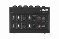 IMG MMX-8, 8-channel miniature universal audio mixer