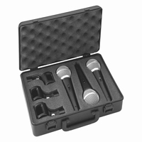 IMG DM-3SET, set of 3 dynamic microphones in case
