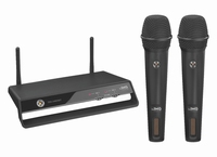 IMG TXS-2402SET, wireless 2-channel PLL microphone set