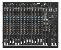 IMG PMX-122FX, Powered mixer, 16 ch. 2x475 W, 4 Ω