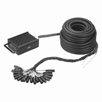 IMG STB-164, Stage box / mixer cable, 16in/4out, 25mtr.