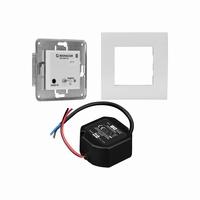 MONACOR IWA-05BT/WS, compact wireless flush mount amplifier