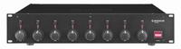 MONACOR STA-850D, 8-channel class-D PA amplifier