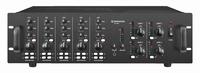 MONACOR PA-12040, 5-in, 5-zone, 1-channel PA amplifier, 100V