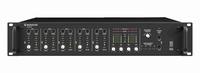 MONACOR PA-40120, 5-in, 4-active zones PA amplifier, 100V