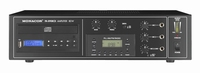 MONACOR PA-890RCD, 3-mic/line, FM, CD, 1out mix amp, 100V