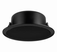 MONACOR EDL-11TW/SW, PA ceiling speaker, black, 100V