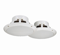 MONACOR SPE-165/WS, pair of flush mount speakers