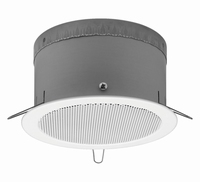MONACOR EDL-165AB/WS, PA A/B ceiling speaker, 100V, EN54-24