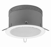 MONACOR EDL-165AB/WS, PA A/B ceiling speaker, 100V EN54-24