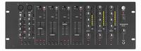 MONACOR MPX-4PA, 2-micr.+ 4-line in, 3-zone out audio mixer