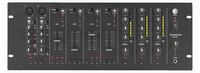 MONACOR MPX-4PA, 2-micr.+ 4-line in, 3-zone out audio mixer