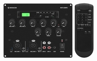MONACOR MXT-52MP3, 2-mic + 2-line/MP3 mixer