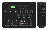 MONACOR MXT-52MP3, 2-mic + 2-line/MP3 mixer