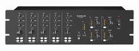 MONACOR PA-4040MPX, 3xmic/line + 2-line in, 4 zones mixer