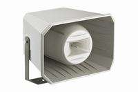 MONACOR IT-250TW, weatherproof 2-way music horn, 100V/8ohm