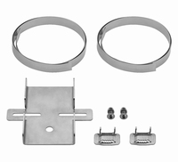 MONACOR ITH-300, Pole mount set for horn speakers, cameras,