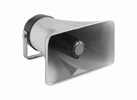 MONACOR NR-33KS, moisture proof horn speaker, 8Ω
