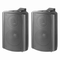 MONACOR EUL-30/SW, pair wall mounted PA speakers, 100V/8ohm