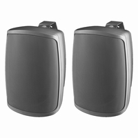 MONACOR WALL-05/SW, pair wall PA speakers, 100V/8Ω, IP65