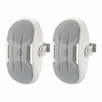 MONACOR MKS-248/WS, pair wall mount design speakers, 8Ω