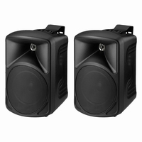 MONACOR PAB-58/SW, pair wall mount speakers, 8Ω