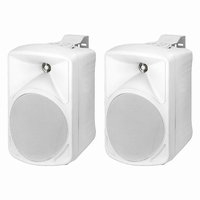 MONACOR PAB-58/WS, pair wall mount speakers, 8Ω