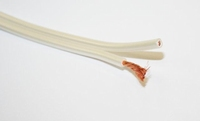 KACSA KCE-LSW15, 2x 1,5 mm² OFC Loudspeaker cable, pearlwhit