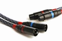 KACSA KCS-XLR10, balanced interlink cable, 1,0m. Price/pair