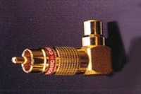 PURESONIC 6122, Cinch adaptor, right angled. Price/pair