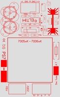 ELTIM PS715xx, single voltage power supply DIY kit, 15VA