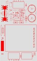 ELTIM PS-FL24xx, single voltage power supply DIY kit, 24VA