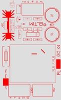 ELTIM PSFL6xx, single voltage power supply DIY kit, 6VA
