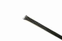 KACSA Snake skin, black, 7-20mm<br />Price per meter