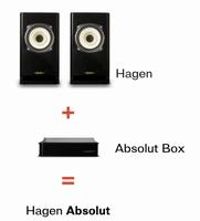 VOXATIV Hagen Absolut, full range monitor speaker, SET