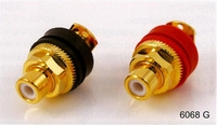 PURESONIC 6068G, RCA Chassis connector, gold plated