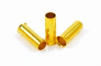 PURESONIC ES-12, Cable end sleeve, 24k gold plated, 4,0mm2