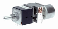 ALPS High-end Stereo PotentioMeter,10k lin., PCB + motor