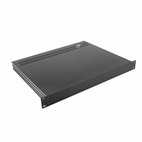 "MODU Slimline 1SL01350N, 1U/19""  black front, 350mm deep<br />Price per piece"