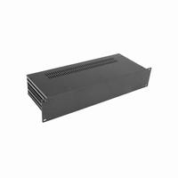 """MODU Slimline 1SL02170N, 2U/19"""" zwart front, 170mm diep<br />Price per piece"""