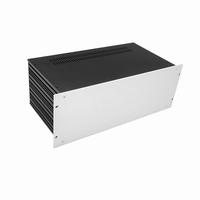 """MODU Slimline 1SL04230B, 4U/19"""" zilver front, 230mm diep<br />Price per piece"""