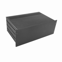 "MODU Slimline 1SL04280N, 4U/19""  black front, 280mm deep<br />Price per piece"