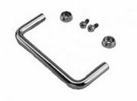 MODU Round handles, 3U, black<br />Price per pair