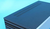 MODU Slimline series steel top cover, 350mm<br />Price per piece