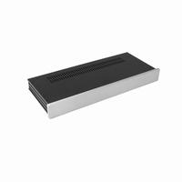 MODU Slimline 1NSL01170B, 10mm silver front, 435x183x42mm