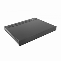 MODU Slimline 1NSL01350N, 10mm  black front, 350mm deep