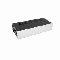 MODU Slimline 1NSL02170B, 10mm silver front, 435x183x82mm