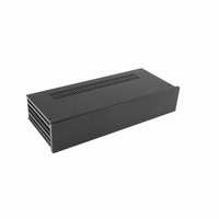 MODU Slimline 1NSL02170N, 10mm black front, 435x183x82mm
