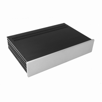 MODU Slimline 1NSL02280S, 10mm silver front, 435x293x82mm