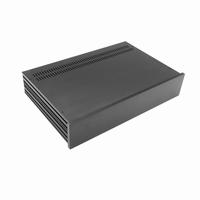 MODU Slimline 1NSL02280N, 10mm  black front, 280mm deep